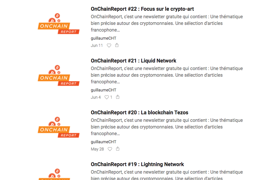 OnChain Report - Reports